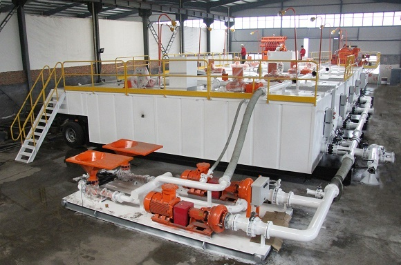 Shipment of Brightway Trailer Mounted Solids Control System