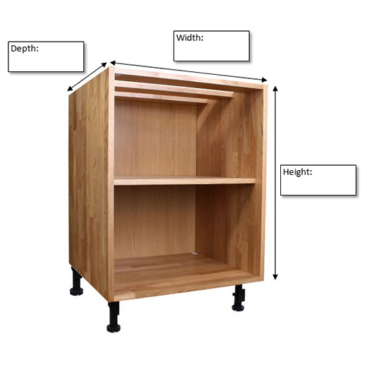 How To Measure Solid Oak Kitchens: Cabinets & Cabinet Doors