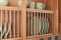 Solid Wood Oak Plate Rack, Wood Kitchen Plate Racks ...