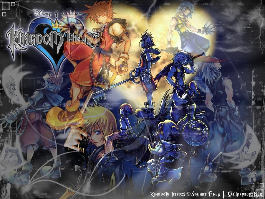 Kingdom Hearts Iphone Wallpaper Wallpapers Kingdom Hearts Fondos De Pantalla