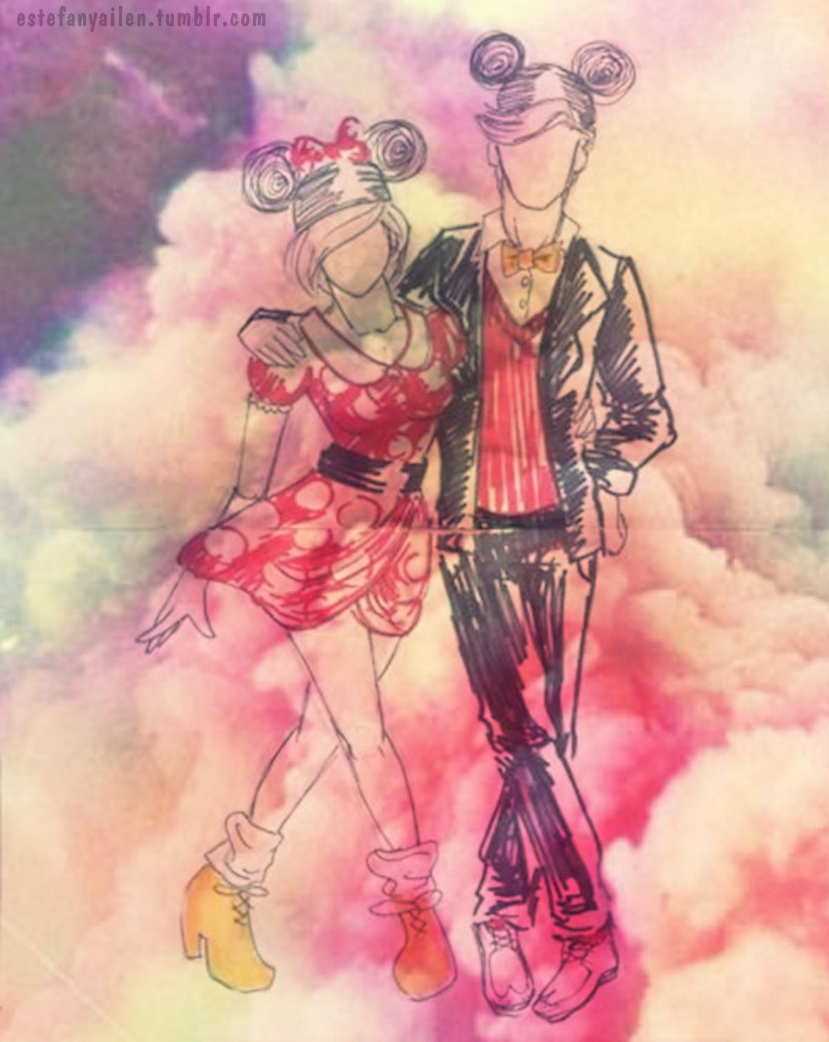 3d Girl Image Wallpaper Fondos De Mickey Hipster Fondos De Pantalla