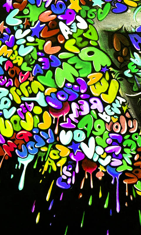 Cute Graffiti Wallpaper Fondos Animados De Graffitis Fondos De Pantalla