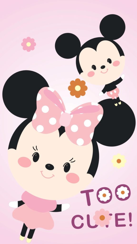 Cute Wallpapers Of Hello Kitty Fondos De Mickey Mouse Para Iphone Fondos De Pantalla