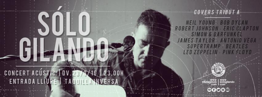 Gilando Gilando: próximo concierto