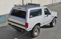 Roof Chase Rack / Ford Bronco | Solo Motorsports