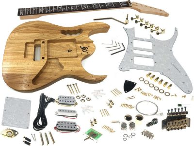 DIY Electric Guitar Kits, Build Your Own Guitar Kit Solo Music Gear