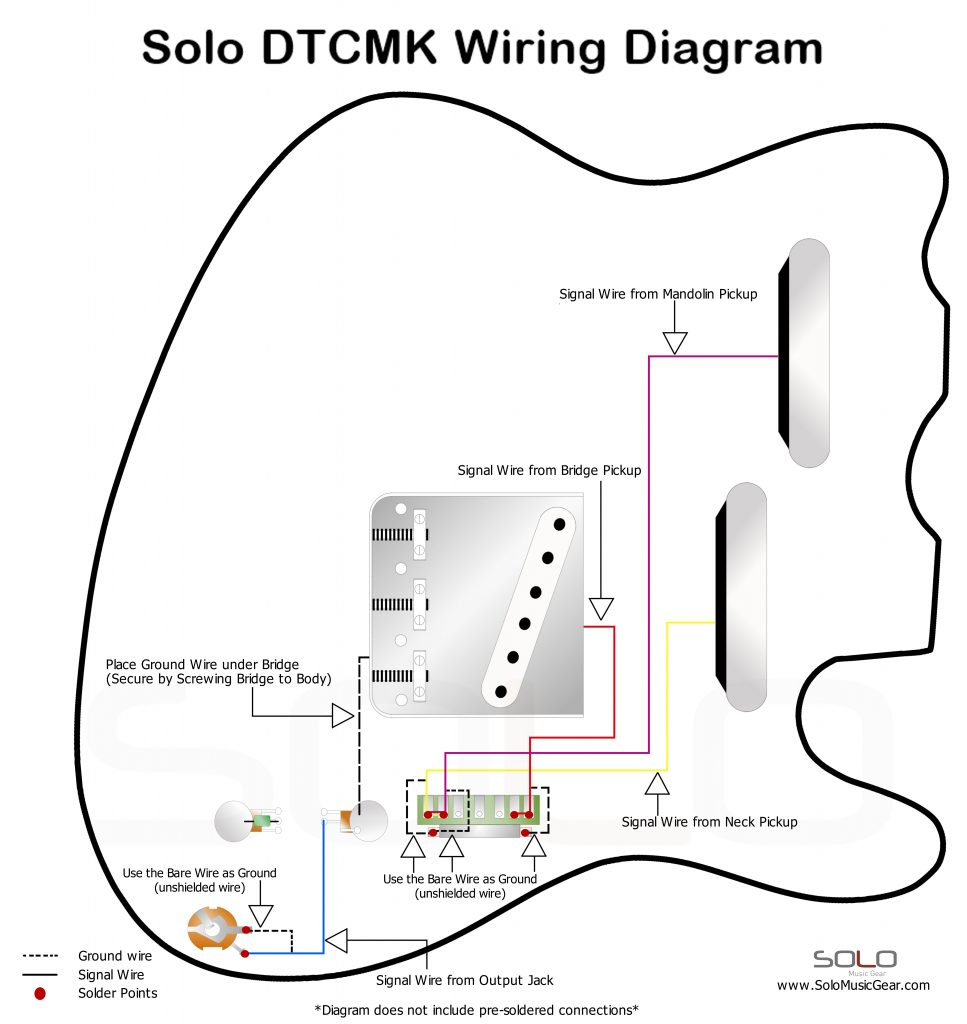 wiring diagram double neck sg
