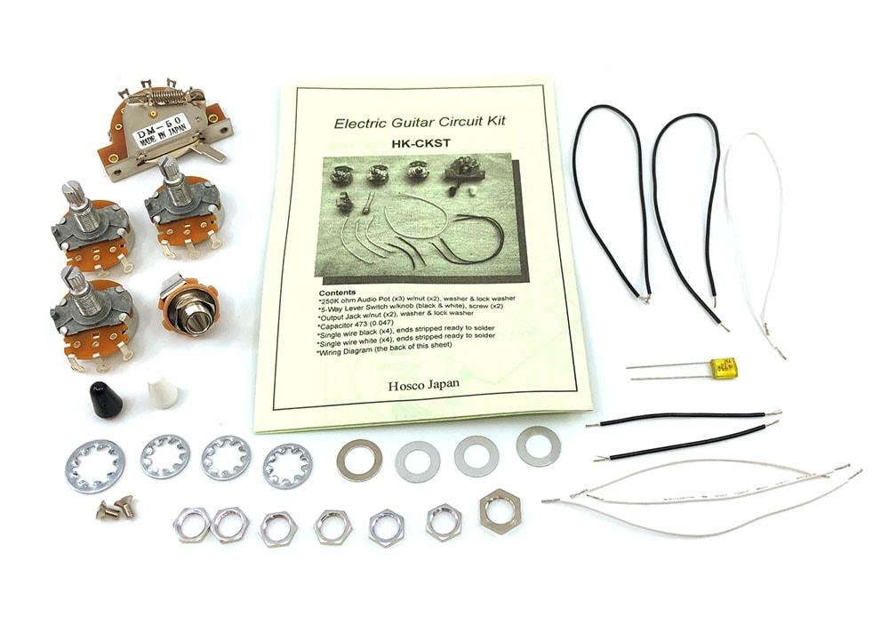 Hosco HK-CKST ST Style Wiring Kit Solo Music Gear