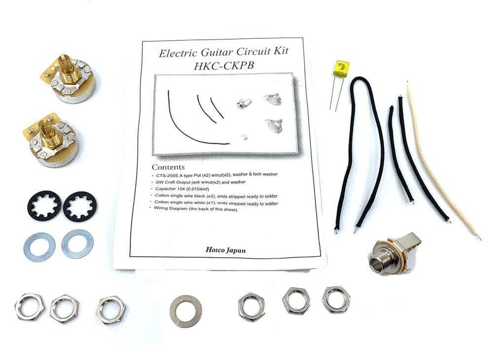 Hosco HKC-CKPB Pro Precision Style Bass Wiring Kit Solo Music Gear