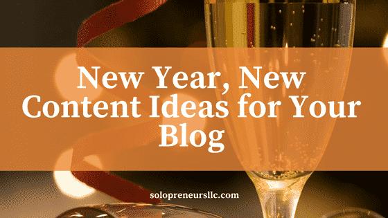 content ideas your blog