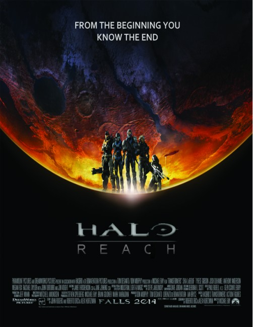 Halo Wallpaper Fall Of Reach Design Insight 10 Insanely Great Halo Video Game Posters