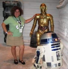 Star Wars Celebration V in Orlando, C-3PO and R2-D2