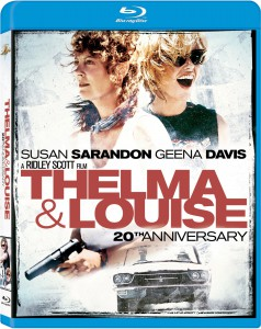 Thelma and Louise 20th Anniversary Blu-ray Cover