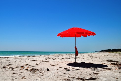Heading to the Beach? Lather on Sunscreen and Maybe Bring Your Own Shade!
