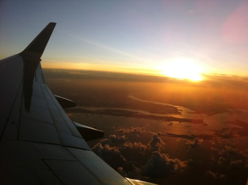 Sunrise Over Southwest Florida, Aug. 2011