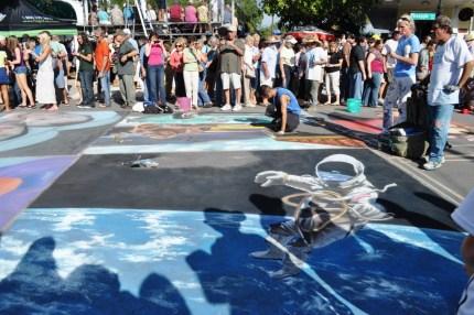 Day 6 at the Chalk Festival in Sarasota, Fla., Nov. 6, 2011