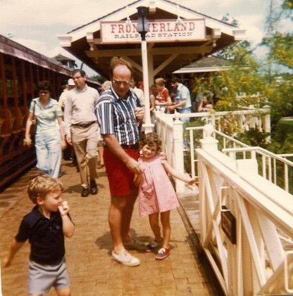 Magic Kingdom's Frontierland circa 1974-ish