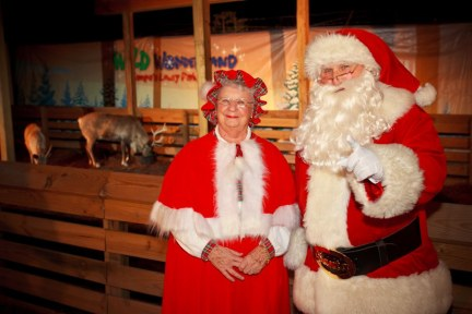 """See Santa and Mrs. Claus Along with Reindeer During Lowry Park Zoo's """"Wild Wonderland"""""""