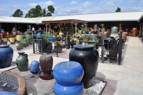Entrance of Pottery Express in Punta Gorda, Fla