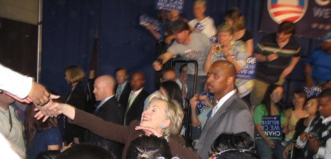 Hillary Clinton Stumps for Obama in Orlando, Fla., Nov. 2008