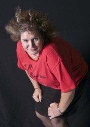 Yankee Tripper of the Bradentucky Bombers Roller Derby Squad