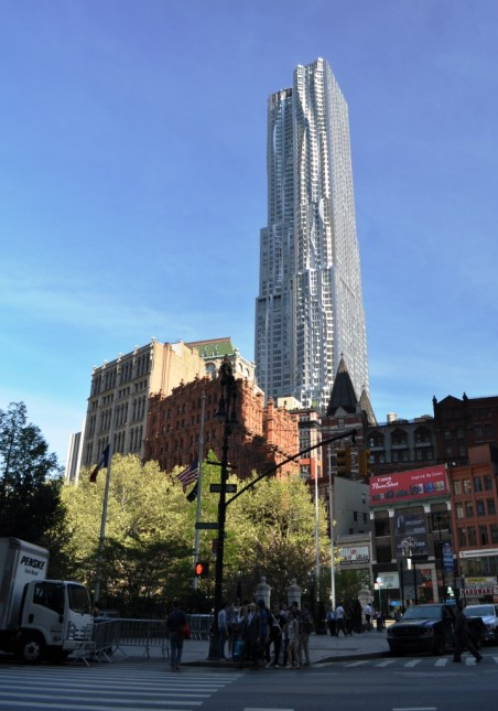 New York by Gehry (Residence Building), April 17, 2012