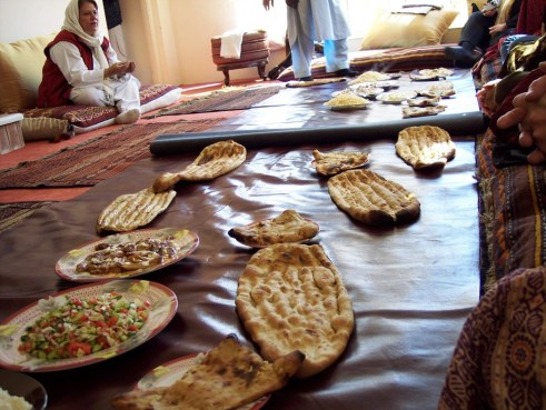 VIP Feast in Kabul, Afghanistan, March 2006