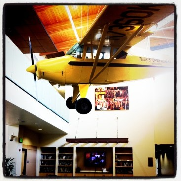 Fairbanks Visitor Center Has a Plane Inside!