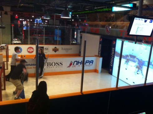 Take Your Best Shot or Block a Shot at the Hockey Hall of Fame