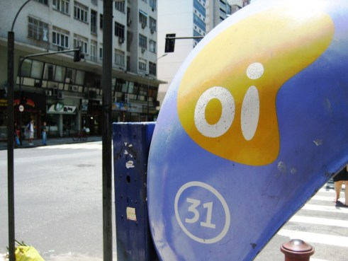 """Oi! One of Rio's Phone Carriers - See the Number? Oi Also Means """"Hi"""" in Portuguese"""