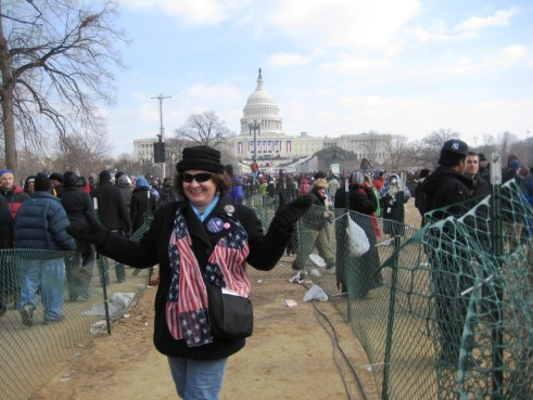 Me During the Presidential Inauguration, 2009