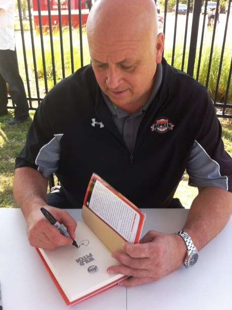 Cal Ripken, Jr. Signs 'Wild Pitch', Charlotte Sports Park, Port Charlotte, Fla., March 10, 2013