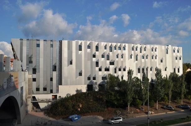 Darius Milhaud Conservatory Designed by Architect Kengo Kuma, Aix-en-Provence, France
