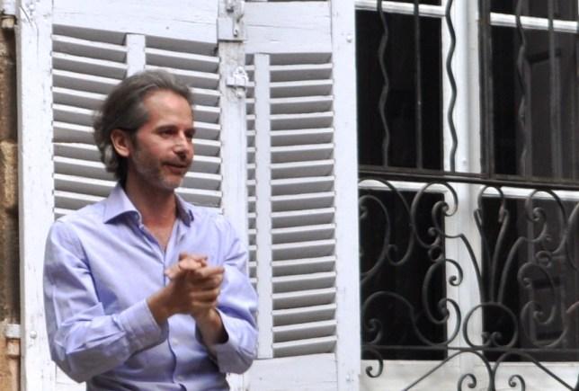 Mr. Nicolas Mazet Welcomes Visitors to Hôtel de Gallifet in Aix-en-Provence, France