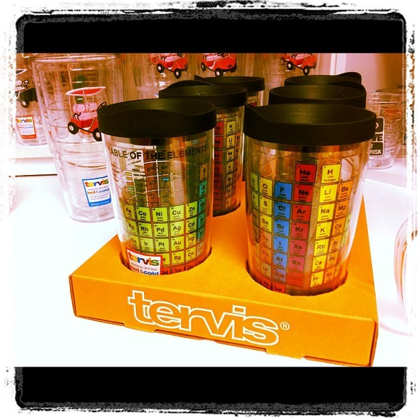I Love These Periodic Table Tervis Tumblers!