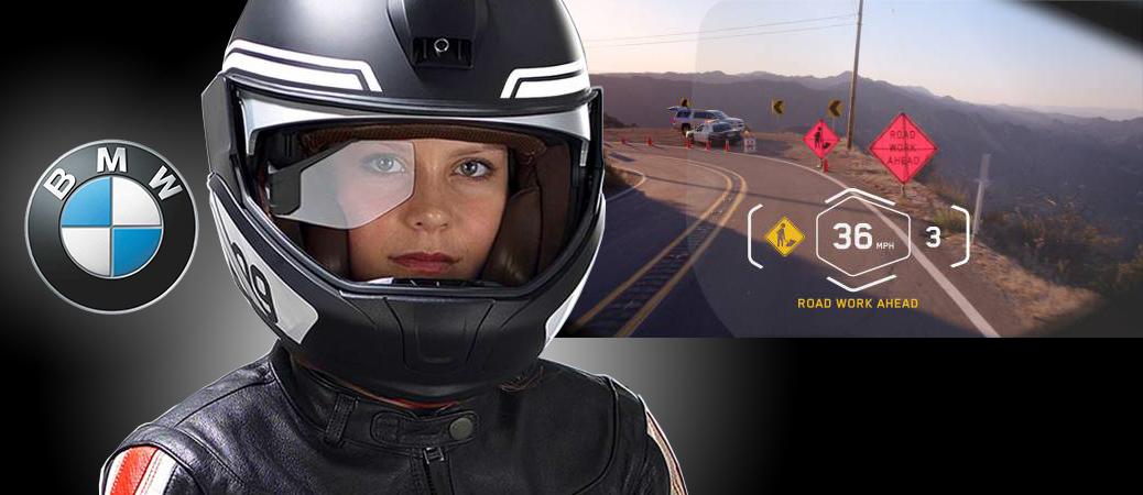 BMW Motorrad présente son prototype de casque HUD