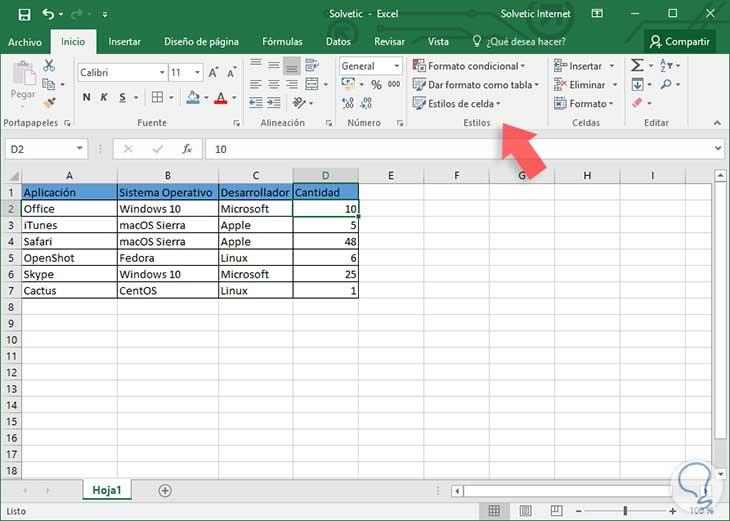 Cómo aplicar formato condicional en Excel 2016 - Solvetic