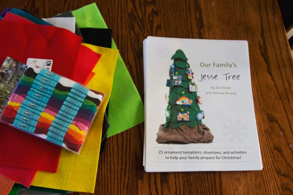 Our Family's Jesse Tree review at Someday Saints