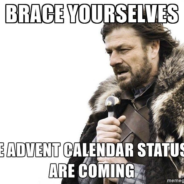 Advent is Coming