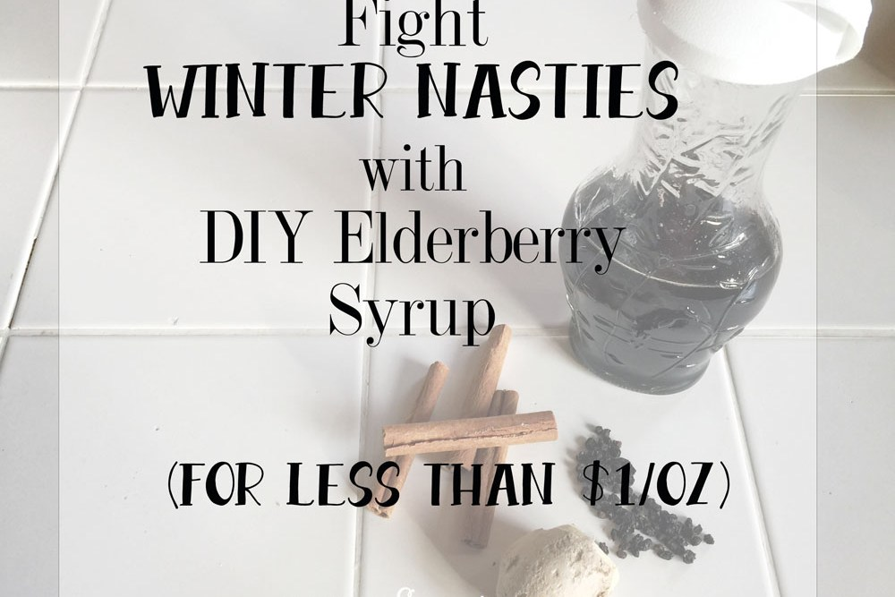 Home Remedy: Elderberry Syrup to Fight Your Germ Nightmares