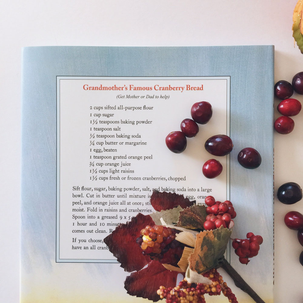 I love picture books with recipes!