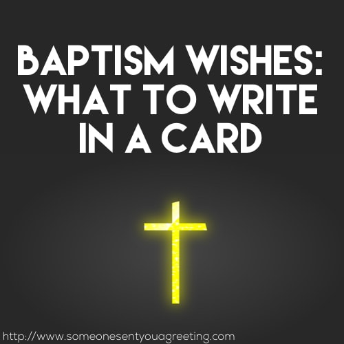 Baptism Card Messages Archives - Someone Sent You A Greeting