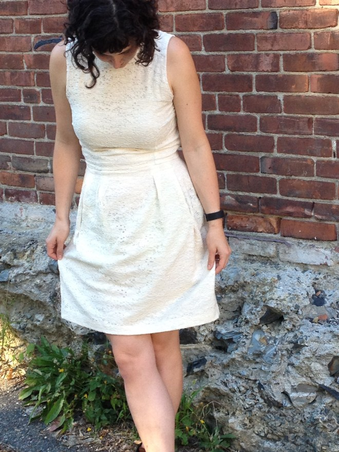 white lace dress - 6 of 7