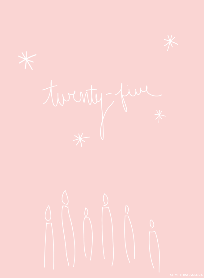 Something Sakura: Twenty-five