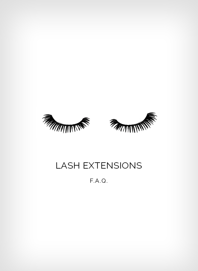 Something Sakura: Lash Extensions FAQ