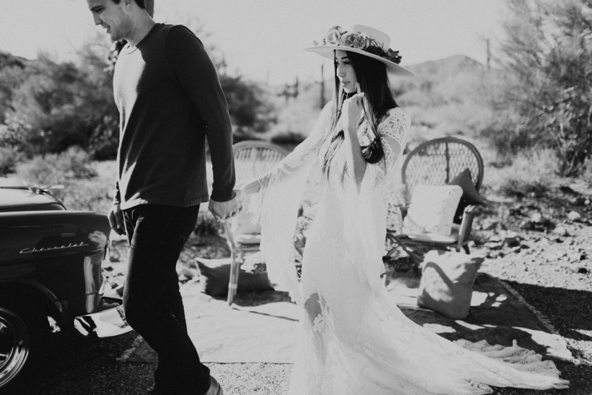 Something Sakura: Lovely Bride Styled Shoot