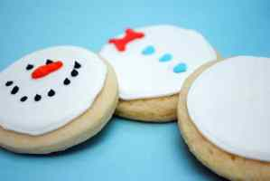 Build a Snowman Cookies in a Jar