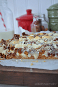 Gingerbread 7 Layer Bars