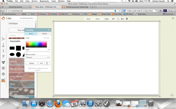 How to Create a Custom Blog Background in #picmonkey