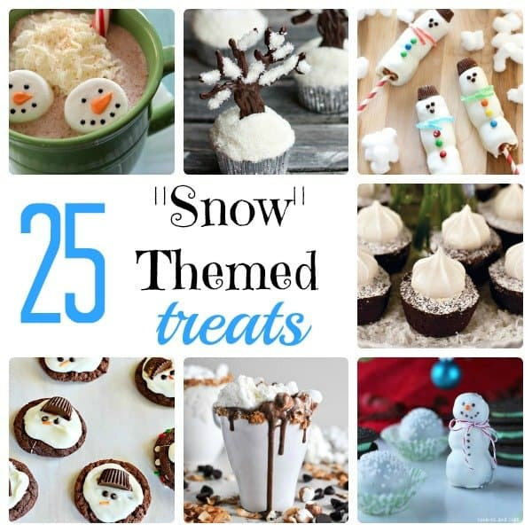 25 Snow Themed Treats | Something Swanky #snow #treats